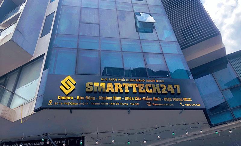 Bộ chuông cửa thông minh tại Smarttech 247