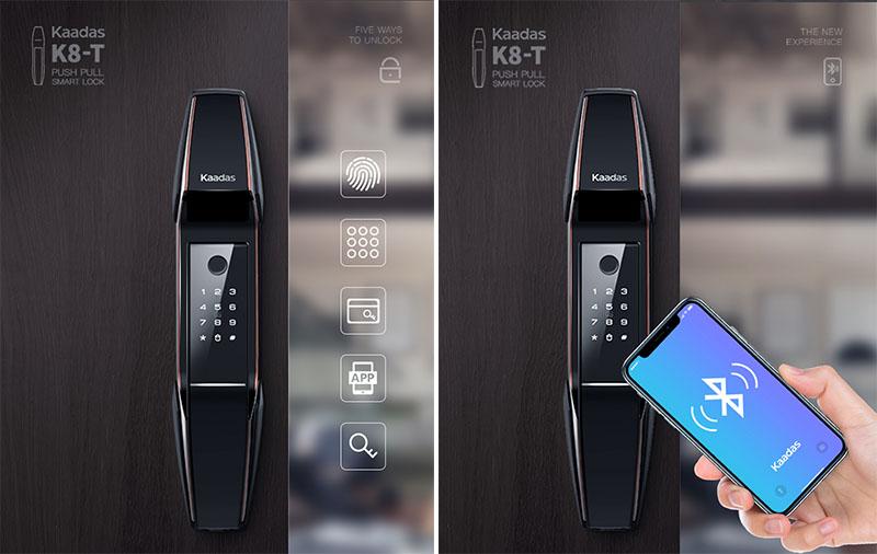 Khóa điện tử có remote Kaadas K8-T